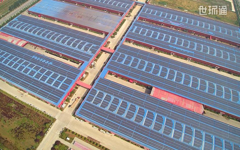 立马产业园分布式光伏电站项目