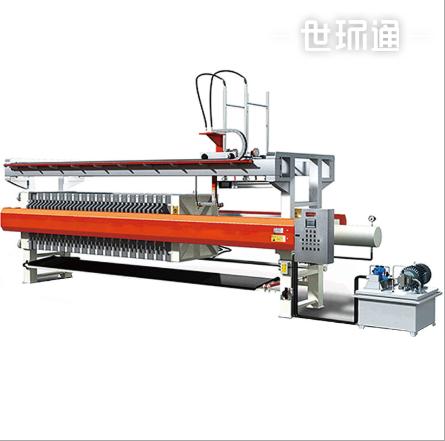 超高压隔膜压滤机 生产全自动控制液压厢式压滤机