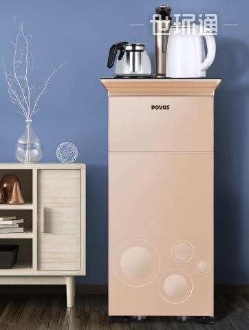 茶吧机家用桶装水吧小型立式全自动智能制冷饮水机自动上水冷热型