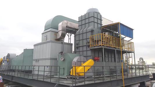 RTO废气焚烧炉烟气余热的综合利用