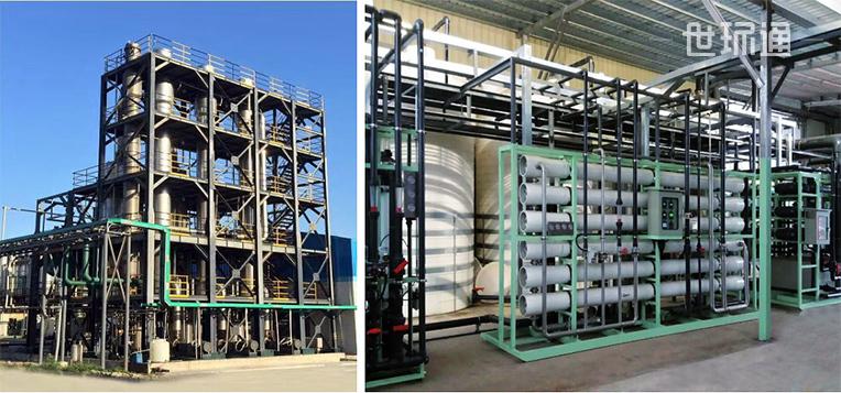 废水回用、MVR浓缩及零排放