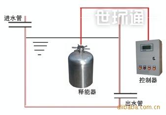 楼顶水箱自洁消毒器 通用型高层楼顶二次供水自洁消毒器