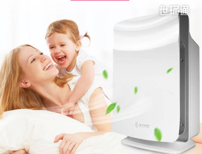 母婴孕妇儿童专用曲面空气净化器