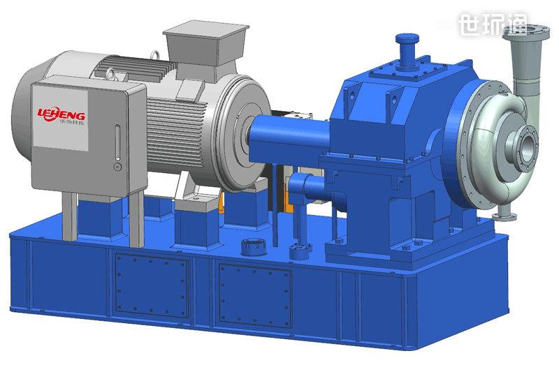 管道增压离心式蒸汽压缩机