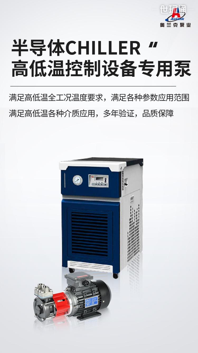 半导体检测磁力泵