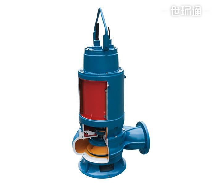 WQN型内循环冷却型潜水排污泵