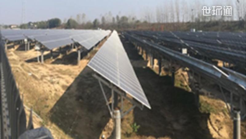 麻城光伏发电项目(农光互补项目)