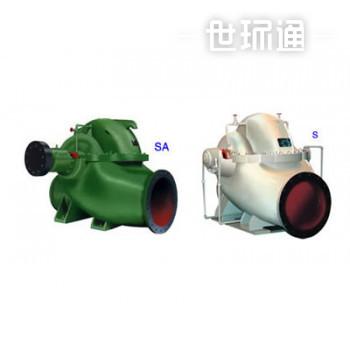 SA、S型单级双吸水平中开式离心泵