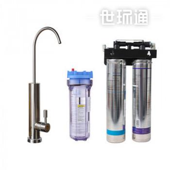 商用净水器+DF3185P2双水杀菌龙头