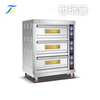 普通电烤箱 3层6盘