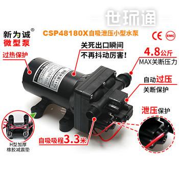 微型水泵泄压CSP48180X