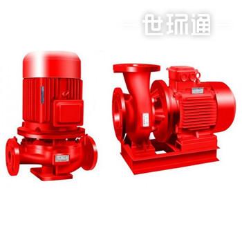 单极消防排水泵