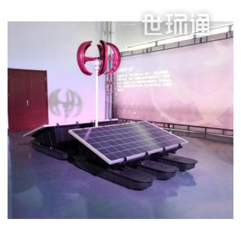 纯太阳能微纳米曝气机 太阳能推流增氧机 安徽太阳能曝气设备