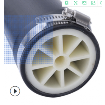 污水处理管式曝气设备膜片微孔纳米可提升微孔曝气管 曝气器