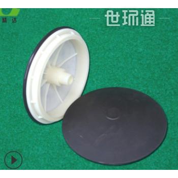 污水处理用215硅胶曝气头膜片微孔蘑菇头曝气盘215mm盘式曝气器