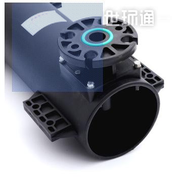 旋流曝气器 可提升式旋混流微泡曝气器