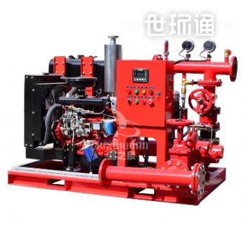 DJ-OTS柴油机双动力消防泵