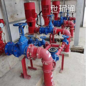 大流量消防管道增压消防长轴泵 380V电压