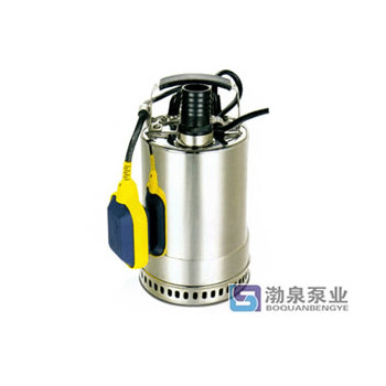 不锈钢耐高温潜水泵