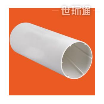 PVC实壁螺旋排水管