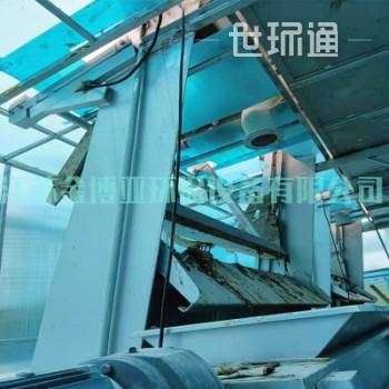 GSY型钢丝绳牵引格栅除污机