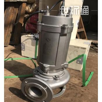 WQK/QG不锈钢双绞刀带切割装置排污泵
