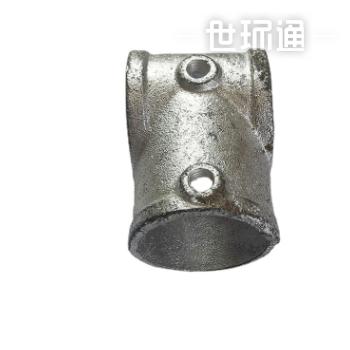 钢管件1寸镀锌内丝三通接头铸铁三通消防水暖配件