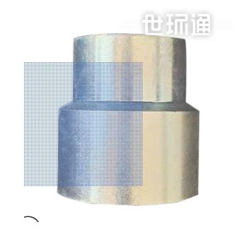 304三通焊接式高压方形直通碳钢镀锌直接管件