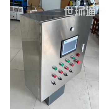 PLC编程洗瓶口控制柜