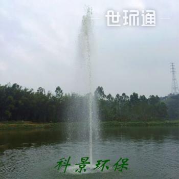高喷式喷泉曝气机