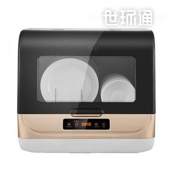 家用出口免安装台式小型智能洗碗消毒一体机全自动洗碗机