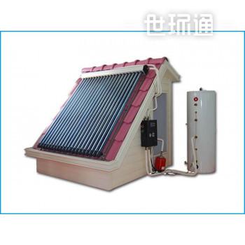 别墅热管分体式太阳能热水器