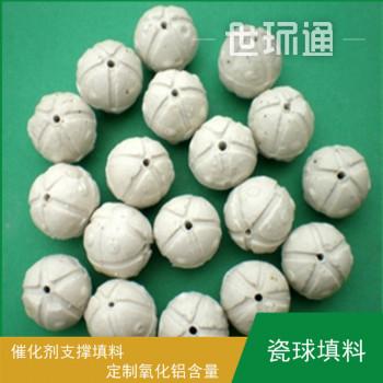 开孔瓷球 催化剂支撑剂 瓷球