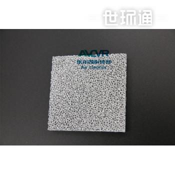泡沫镍基光触媒过滤网 纳米二氧化钛除甲醛去异味灭菌杀菌净化空气光触媒网