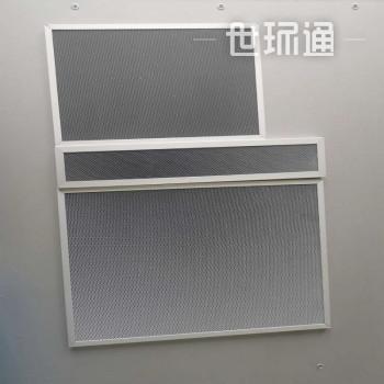UV光解纳米二氧化钛光催化网板定制铝基蜂窝光触媒过滤网空气净化除TVOC