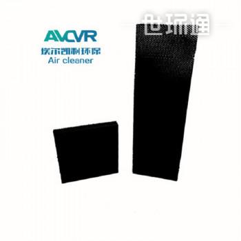 定制边框涂层充分铝蜂窝芯活性炭有机废气治理除TVOC过滤器