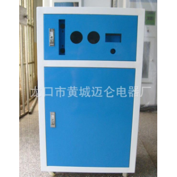 100G-800G RO反渗透商用箱式铁质外壳批发 蓝色柜式净水机外壳