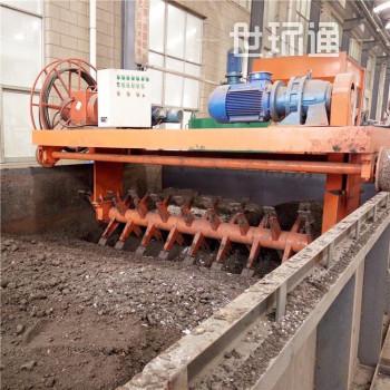 城市污泥发酵处理机 有机肥发酵翻抛机