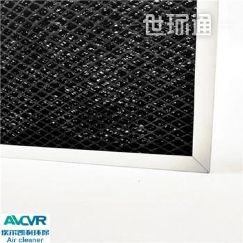 活性炭除甲醛设备铝箔网活性碳空气过滤网 除甲醛除异活性炭金属基材过滤网
