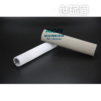 uv光解纳米二氧化钛除甲醛过滤网 AOP光氧设备泡沫镍滤筒光触媒过滤网