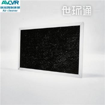 定制新风机除TVOC除甲醛活性炭过滤网 铝箔网活性炭过滤网