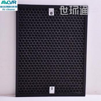 活性炭工业废气治理 蜂窝活性炭颗粒过滤器 定制铝框纸框过滤空气除味滤网