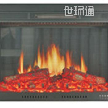 现代真火景观壁炉