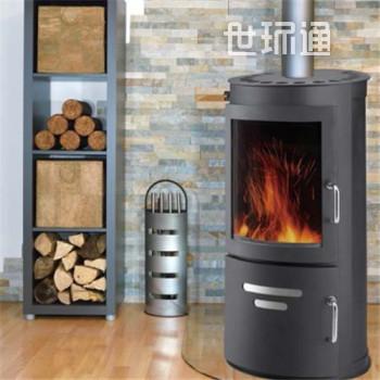 WFB006独立式燃木壁炉