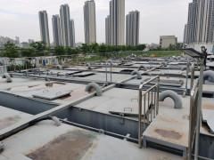 南京江北新区污水处理站换膜