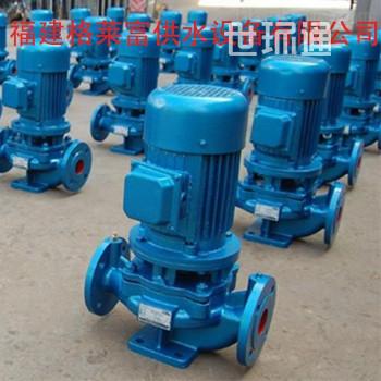 立式管道泵工业380v耐腐蚀增压泵