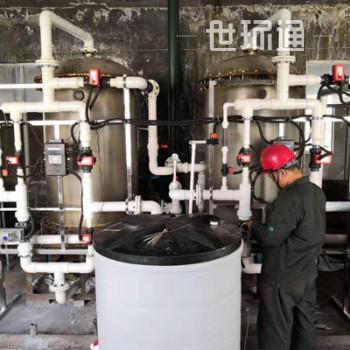 润新陶瓷芯球阀软化水设备