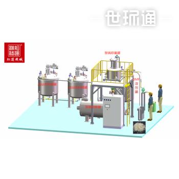 广州红运聚砜溶解混合装备
