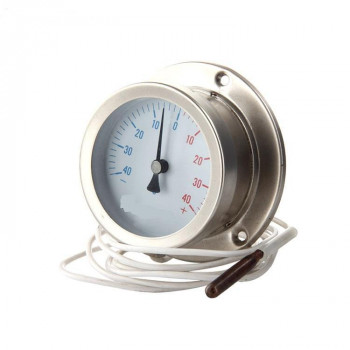 不锈钢材质 液气体 远传 防爆 毛细管感温包定制 压力式温度计