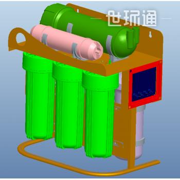 400-1200G商用配套 长效滤芯节水净水系统
